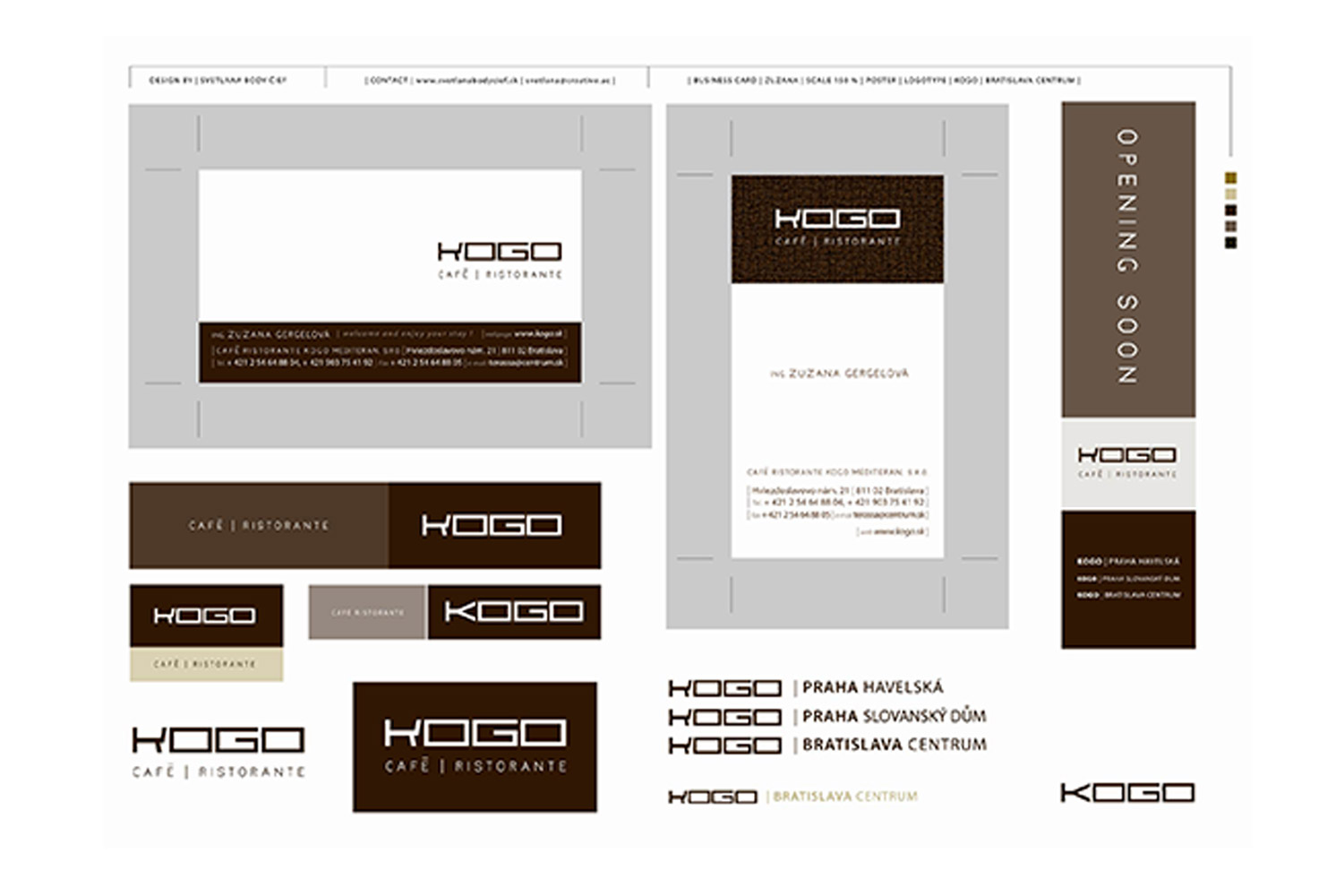 KOGO, corporate identity image