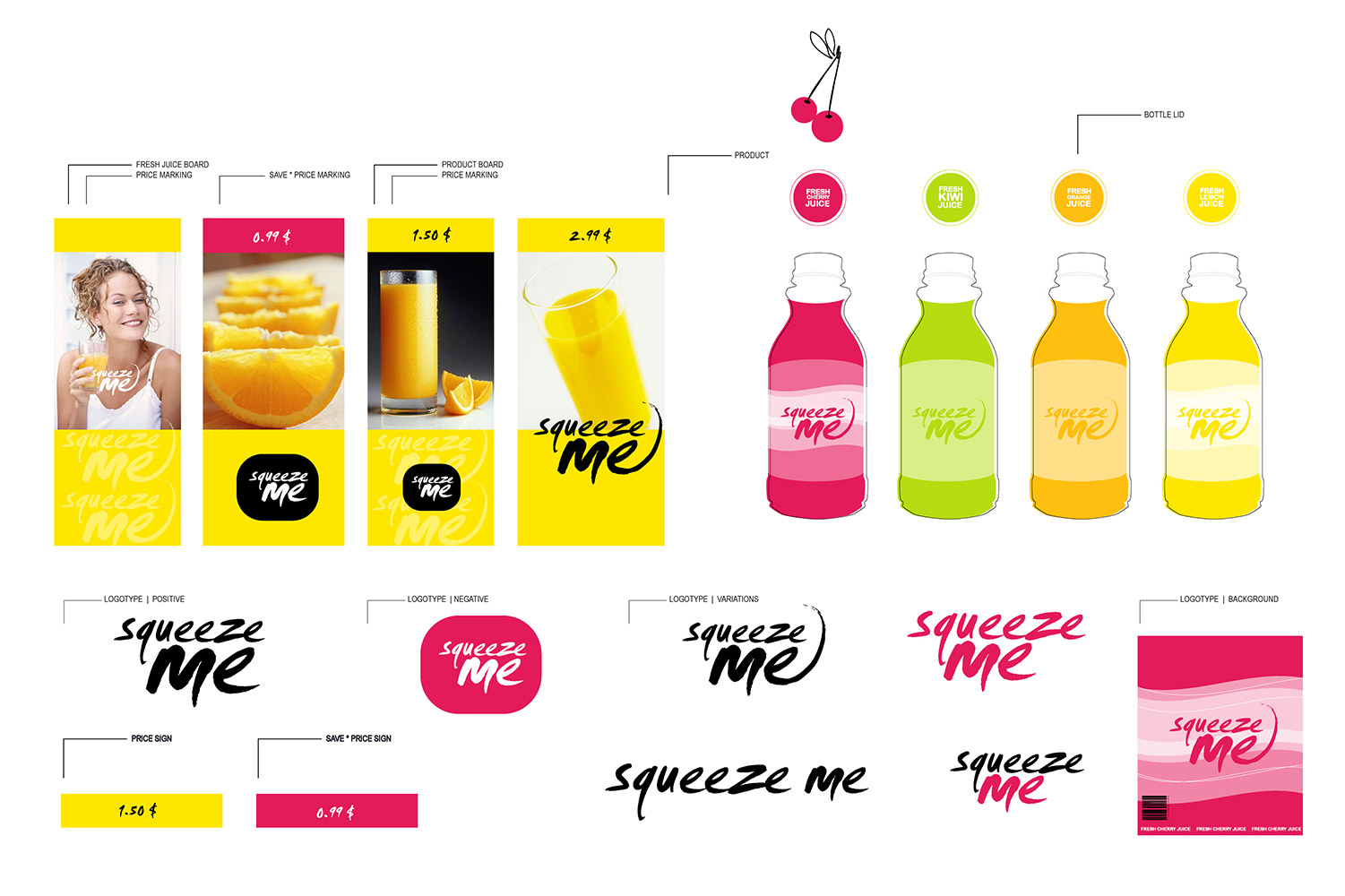 Sqeeze, corporate identity image