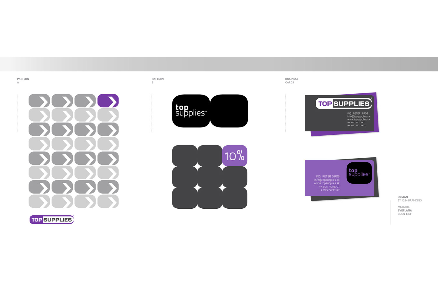 Top Supplies, corporate identity image